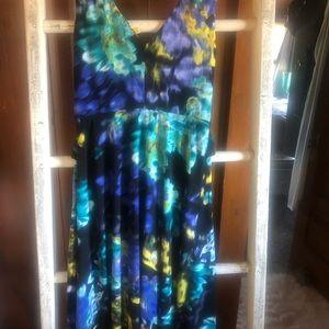 Tahari Dresses - Tahari multi colored dress